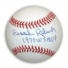 "Brooks Robinson Autographed OML Baseball Inscribed ""1970 WS MVP"""