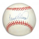 Frank Robinson Autographed Baseball by