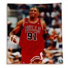 """Dennis Rodman Chicago Bulls Autographed 16"""" x 20"""" Photograph (Unframed)"""