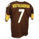 Ben Roethlisberger Steelers Autographed Custom Throwback NFL Football Jersey with New... by