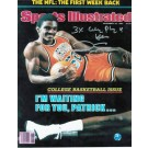 """Ralph Sampson Autographed """"SI Cover"""" Virginia Cavaliers 8"""" x 10"""" Photo with """"3X College Player of Year"""""""