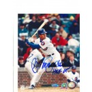 "Ryne Sandberg Chicago Cubs Autographed 8"" x 10"" Photograph Inscribed with... by"