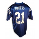 Bob Sanders Indianapolis Colts Autographed Reebok Authentic NFL Football Jersey (Blue) by