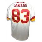 Ricky Sanders Washington Redskins Autographed Custom Throwback NFL Football Jersey... by
