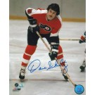 "Dave Schultz Autographed ""Faceoff"" Philadelphia Flyers 8"" x 10"" Photo"