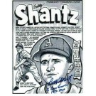 "Bobby Shantz Kansas City Athletics Autographed 8"" x 10"" Unframed Lithograph Inscribed with ""8 Gold Gloves 1957-67"""