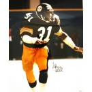 "Donnie Shell Autographed ""On the Run"" Pittsburgh Steelers 16"" x 20"" Photo"