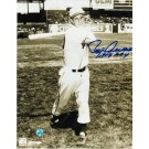 "Roy Sievers Autographed ""Follow Through"" St. Louis Browns 8"" x 10"" Photo Inscribed ""1949 ROY"""