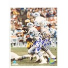 "Billy Sims Detroit Lions Autographed 8"" x 10"" Photograph Inscribed with ""ROY 80""and ""#20"" (Unframed)"