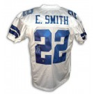 Emmitt Smith Autographed Dallas Cowboys Reebok Authentic NFL Football Jersey (White) by