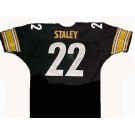 Duce Staley Autographed Pittsburgh Steelers Black Football Jersey by