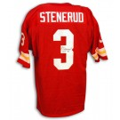 "Jan Stenerud Autographed Kansas City Chiefs Throwback Red Jersey with ""HOF 91"" Inscription"