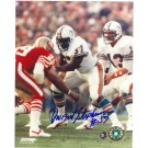 "Dwight Stephenson Miami Dolphins Autographed 8"" x 10"" Photograph (Unframed)"