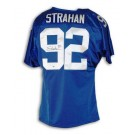 Michael Strahan Autographed New York Giants Blue Jersey