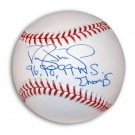 "Darryl Strawberry Autographed MLB Baseball Inscribed with ""96 98 99 WS Champs"" by"