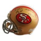 "John Taylor Autographed San Francisco 49ers Proline Helmet ""with Inscription"""
