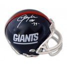 "Lawrence Taylor Autographed New York Giants Mini Helmet Inscribed ""HOF 99"""