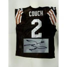 Cleveland Browns NFL Authentic Autographed Puma Jersey with Inaugural 1999 Patch
