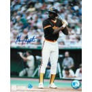 """Garry Templeton Autographed San Diego Padres 8"""" x 10"""" Photo by"""