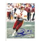 "Joe Theismann Washington Redskins Autographed 8"" x 10"" Photograph with ""#7"" Inscription (Unframed)"