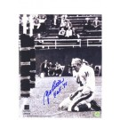 """Y.A. Tittle Autographed New York Giants Vertical 8"""" x 10"""" Photograph of Him Bleeding Inscribed with """"HOF 71"""" (Unframed)"""