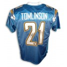 LaDainian Tomlinson San Diego Chargers Autographed Authentic Reebok NFL Football Jersey... by