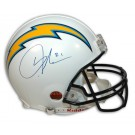 LaDainian Tomlinson Autographed San Diego Chargers Riddell Pro Line Full Size NFL Helmet by