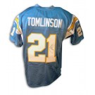 LaDainian Tomlinson Autographed San Diego Chargers Powder Blue Reebok Authentic Jersey by