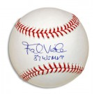 "Frank Viola Autographed Baseball Inscribed with ""87 WS MVP"""