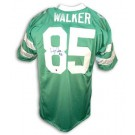 """Wesley Walker Autographed Custom Throwback Football Jersey with """"#85""""... by"""