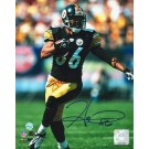 "Hines Ward Autographed ""Running with the Ball"" Pittsburgh Steelers 8"" x 10"" Photo"