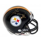 "Hines Ward Pittsburgh Steelers Autographed Riddell Mini Football Helmet with ""86"" Inscription"