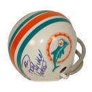 "Paul Warfield Miami Dolphins Autographed Mini Football Helmet Inscribed with ""HOF 83"""