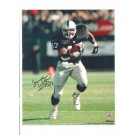 "Tyrone Wheatley Oakland Raiders Autographed 8"" x 10"" Photograph with ""#47"" Inscription (Unframed)"