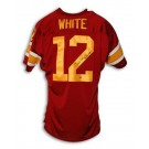 "Charles White Autographed USC Maroon Throwback Jersey Inscribed ""79 Heisman"""