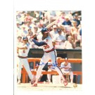 "Devon White California Angels Autographed 8"" x 10"" Photograph (Unframed)"