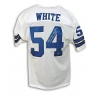 "Randy White Autographed Dallas Cowboys White Throwback Jersey Inscribed ""CO MVP SB XXI"""