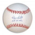 "Roy White Autographed MLB Baseball Inscribed with ""1977-78 WSC"""