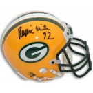 Reggie White Autographed Green Bay Packers Riddell Mini Helmet