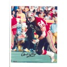 "Dave Wilcox San Francisco 49ers Autographed (Black) 8"" x 10"" Photograph with ""HOF 2000"" Inscription (Unframed)"