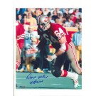 "Dave Wilcox San Francisco 49ers Autographed (Blue) 8"" x 10"" Photograph with ""HOF 2000"" Inscription (Unframed)"