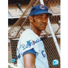 """Billy Williams Autographed """"Head Shot"""" Chicago Cubs 8"""" x 10"""" Photo"""