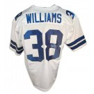Roy Williams Autographed Custom Throwback NFL Football Jersey (White) by