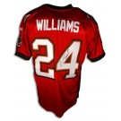 "Carnell ""Cadillac"" Williams Tampa Bay Buccaneers Autographed Authentic Reebok NFL Football Jersey (Red)"