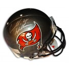 """Carnell """"Cadillac"""" Williams Autographed Tampa Bay Buccaneers Riddell Pro Line Helmet"""