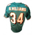 Ricky Williams Autographed Miami Dolphins Teal Jersey by