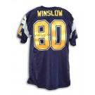 Kellen Winslow Autographed San Diego Chargers Navy Blue Throwback Jersey by