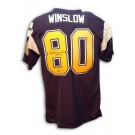 "Kellen Winslow Autographed San Diego Chargers Throwback Jersey with ""HOF 95""... by"