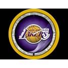 Los Angeles Lakers Plasma Neon Clock