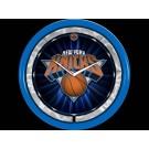 New York Knicks Plasma Neon Clock